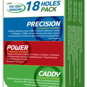 18 HOLES PACK - 18 Holes Pack la giusta dose per 18 buche. 2 compresse Precisio